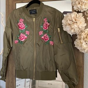 Jackets & Blazers - 🌟Rose Bomber Jacket ⭐️